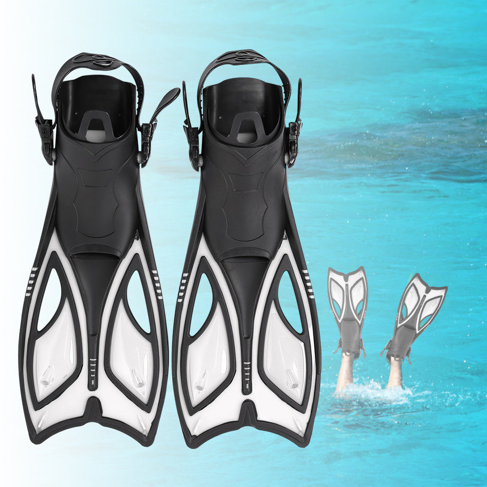 Outdoor-Diving-Fins-Foot-Fin-Flexible-Comfort-Adult-Snorkeling-Water-Sports thumbnail 26