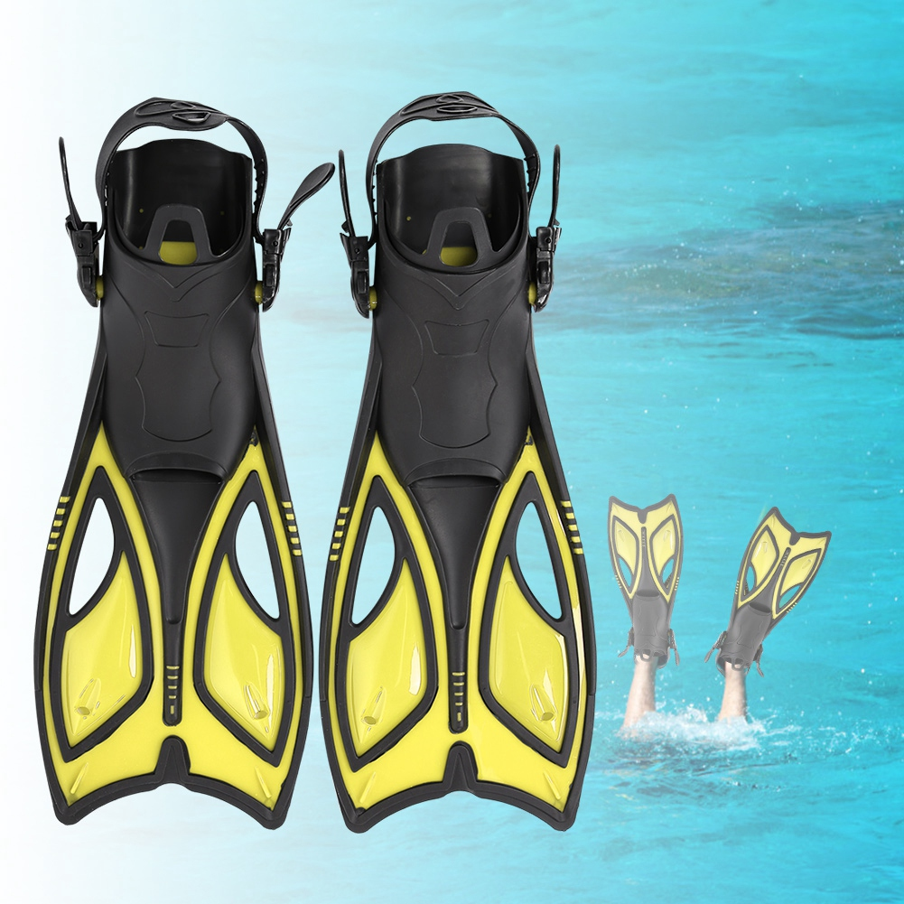Outdoor-Diving-Fins-Foot-Fin-Flexible-Comfort-Adult-Snorkeling-Water-Sports thumbnail 44