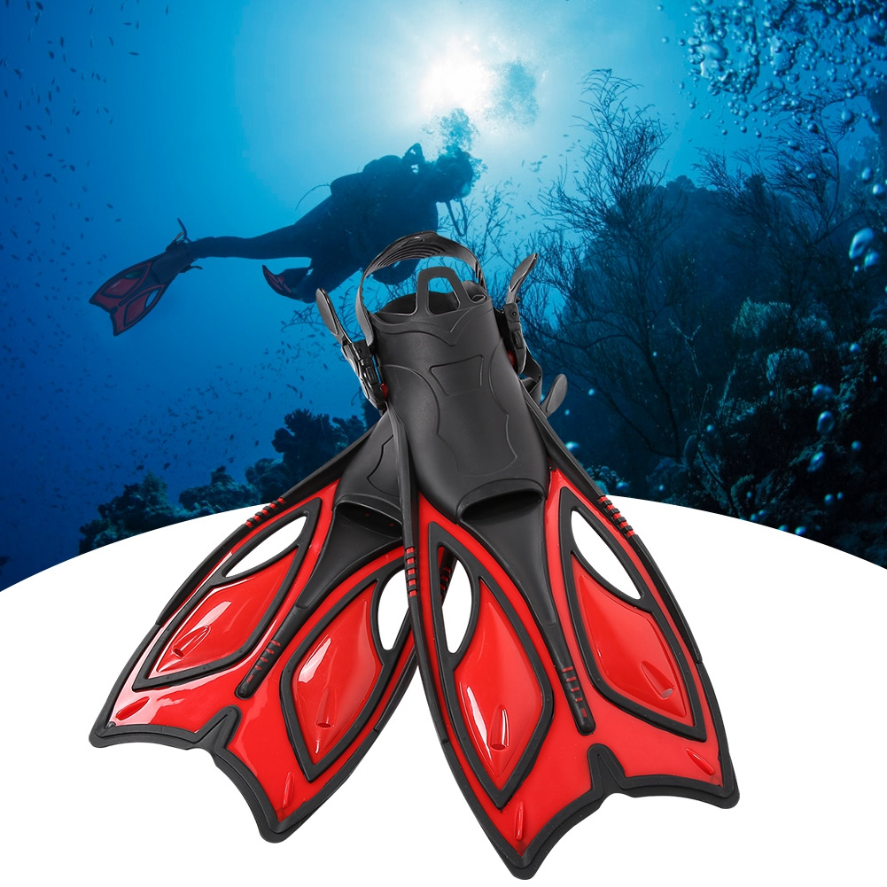 Outdoor-Diving-Fins-Foot-Fin-Flexible-Comfort-Adult-Snorkeling-Water-Sports thumbnail 53