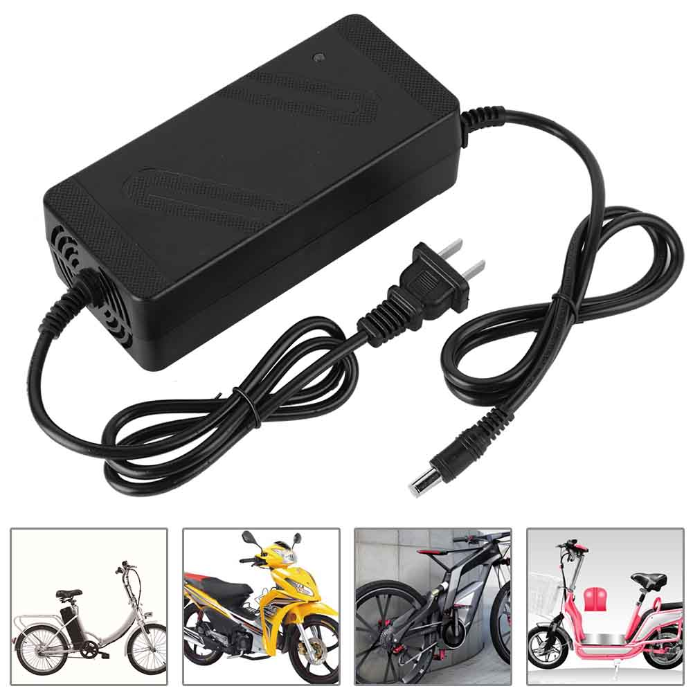 Electric-Bike-Bicycle-EBIKE-48V-36V-2A-Lithium-DC-Head-BATTERY-Charger-3C-Plug thumbnail 13