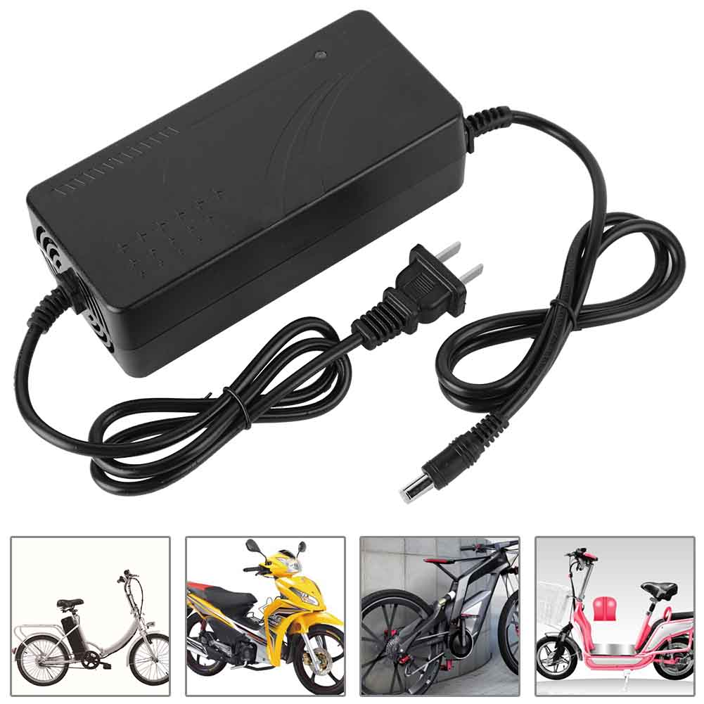 Electric-Bike-Bicycle-EBIKE-48V-36V-2A-Lithium-DC-Head-BATTERY-Charger-3C-Plug thumbnail 16
