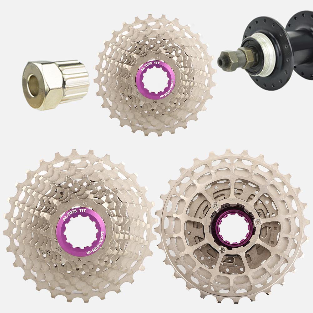 ZTTO 11 Speed CNC Road Bike SLR2 Cassette 11-28T//32T//34T//36T Freewheel Sprocket