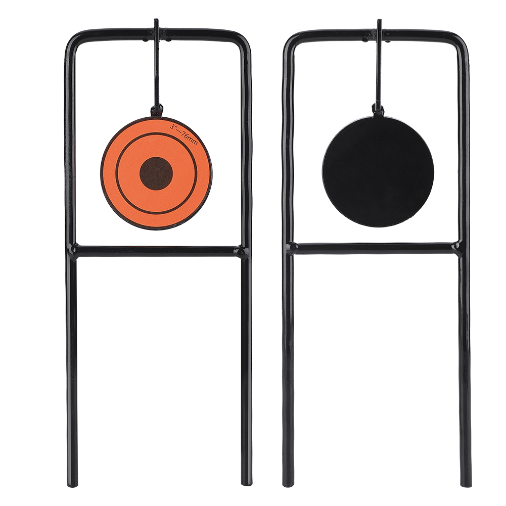 Shooting Target Stands >> Details About Self Resetting Spinners Shooting Practice Targets Portable Shooting Target Stand