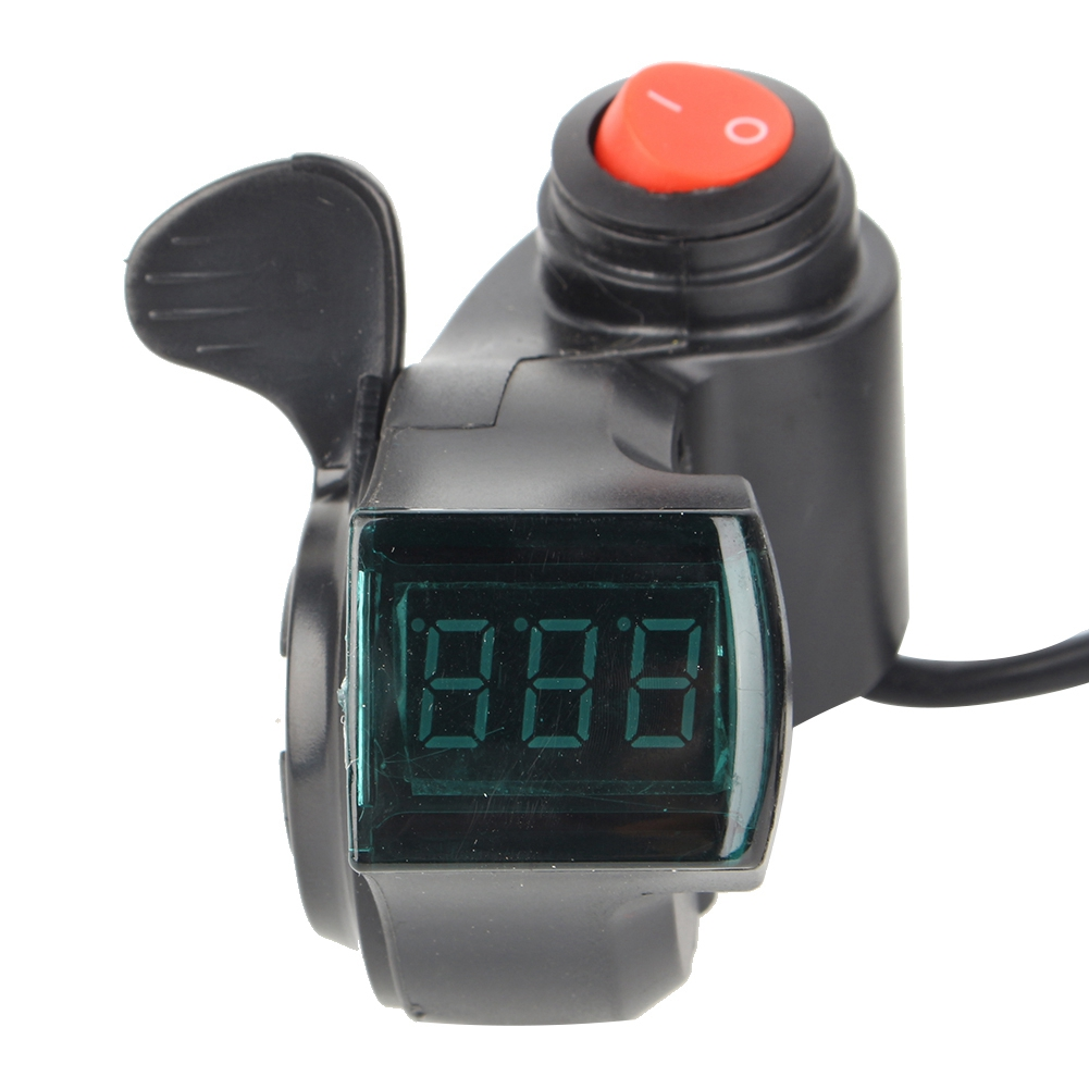 Throttle-Grip-with-Digital-Voltage-Display-and-Lock-for-E-Bike-Scooter-Tricycle thumbnail 17
