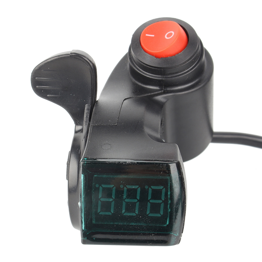 Throttle-Grip-with-Digital-Voltage-Display-and-Lock-for-E-Bike-Scooter-Tricycle thumbnail 20