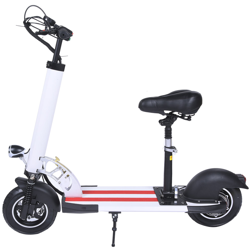 Walker-Steerable-Knee-Scooter-Foldable-Balance-Scooters-2-Wheel-Electric-Bike thumbnail 14
