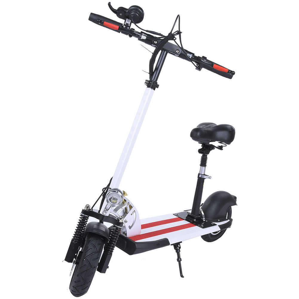 Walker-Steerable-Knee-Scooter-Foldable-Balance-Scooters-2-Wheel-Electric-Bike thumbnail 15