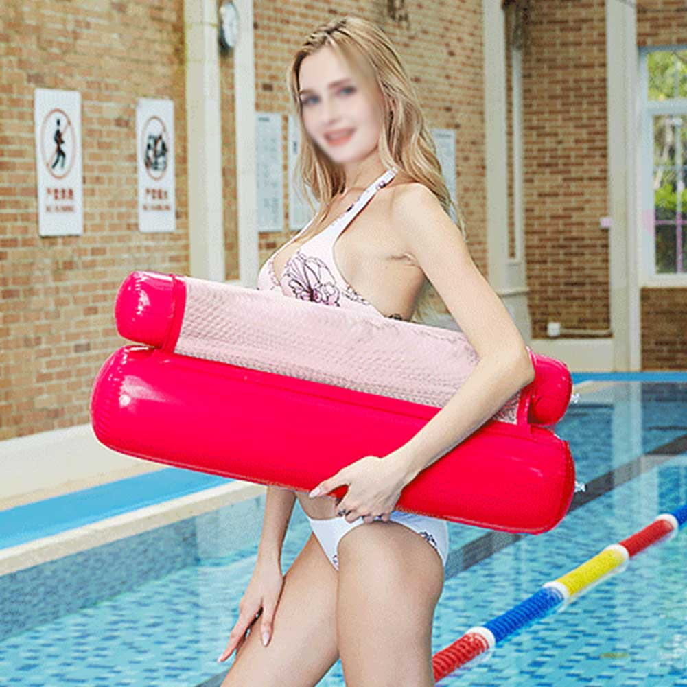 Swimming-Inflatable-Floating-Float-Beach-Lounge-Bed-Chair-Water-Hammock-Pool-Toy thumbnail 15