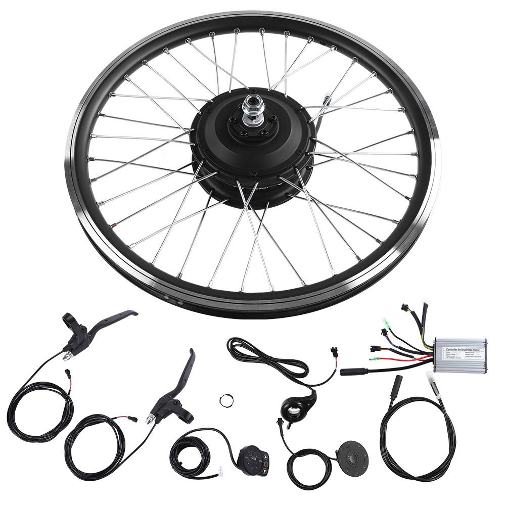 36V-48V-250W-26-034-Front-Rear-Wheel-Electric-Bicycle-E-Bike-Motor-Conversion-Kits thumbnail 17