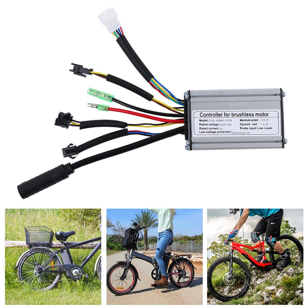 24V-36V-48V-Electric-Bicycle-Bike-Scooter-Brushless-Motor-Speed-Controller-Kit thumbnail 14