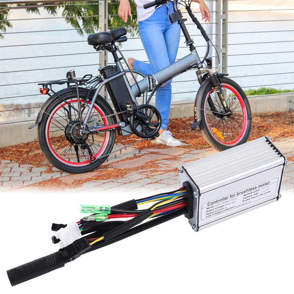 24V-36V-48V-Electric-Bicycle-Bike-Scooter-Brushless-Motor-Speed-Controller-Kit thumbnail 15