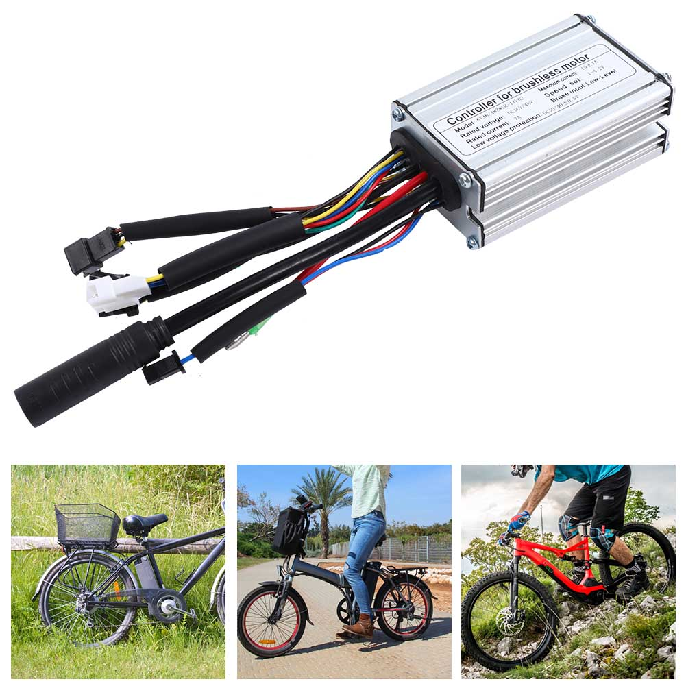 24V-36V-48V-Electric-Bicycle-Bike-Scooter-Brushless-Motor-Speed-Controller-Kit thumbnail 17