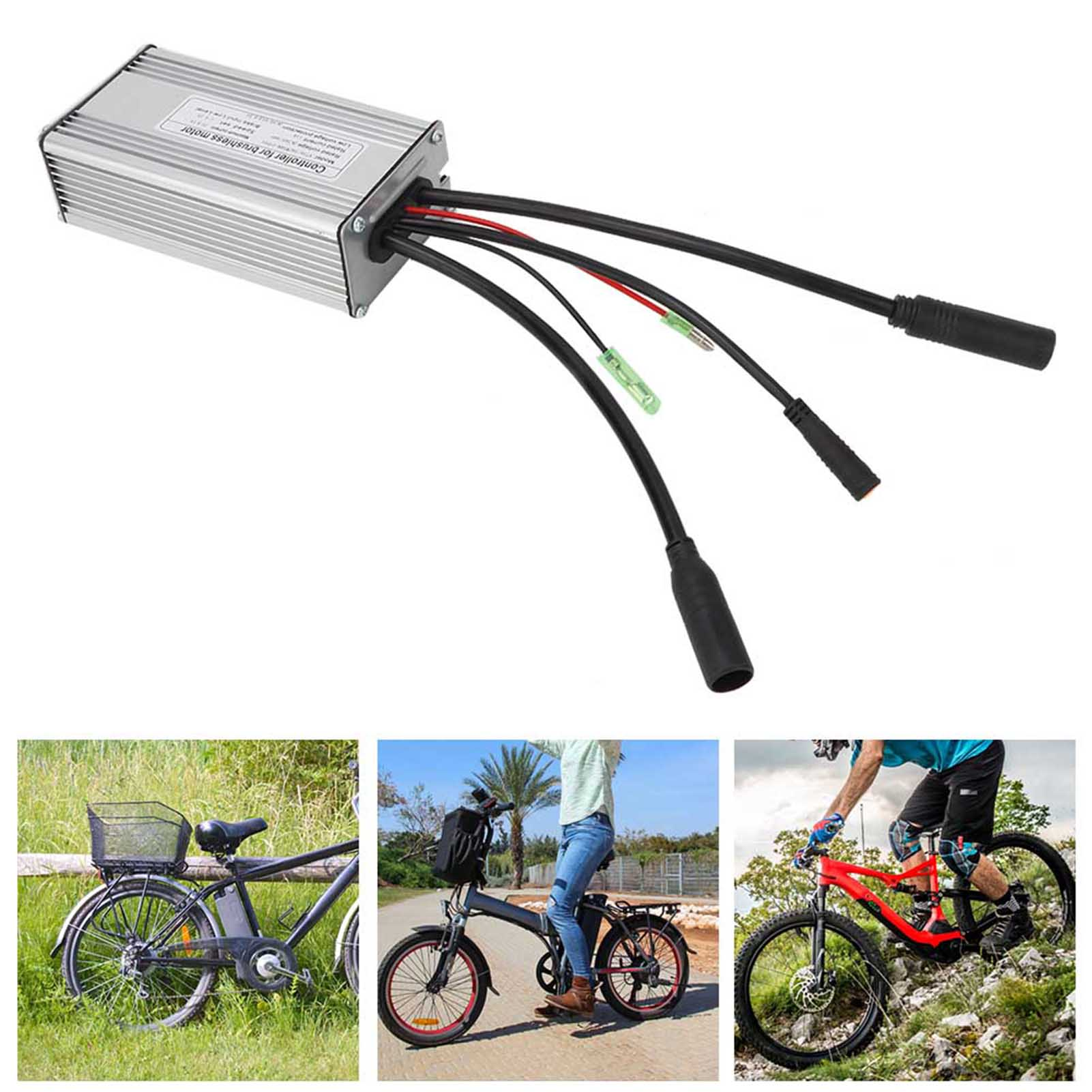 24V-36V-48V-Electric-Bicycle-Bike-Scooter-Brushless-Motor-Speed-Controller-Kit thumbnail 23
