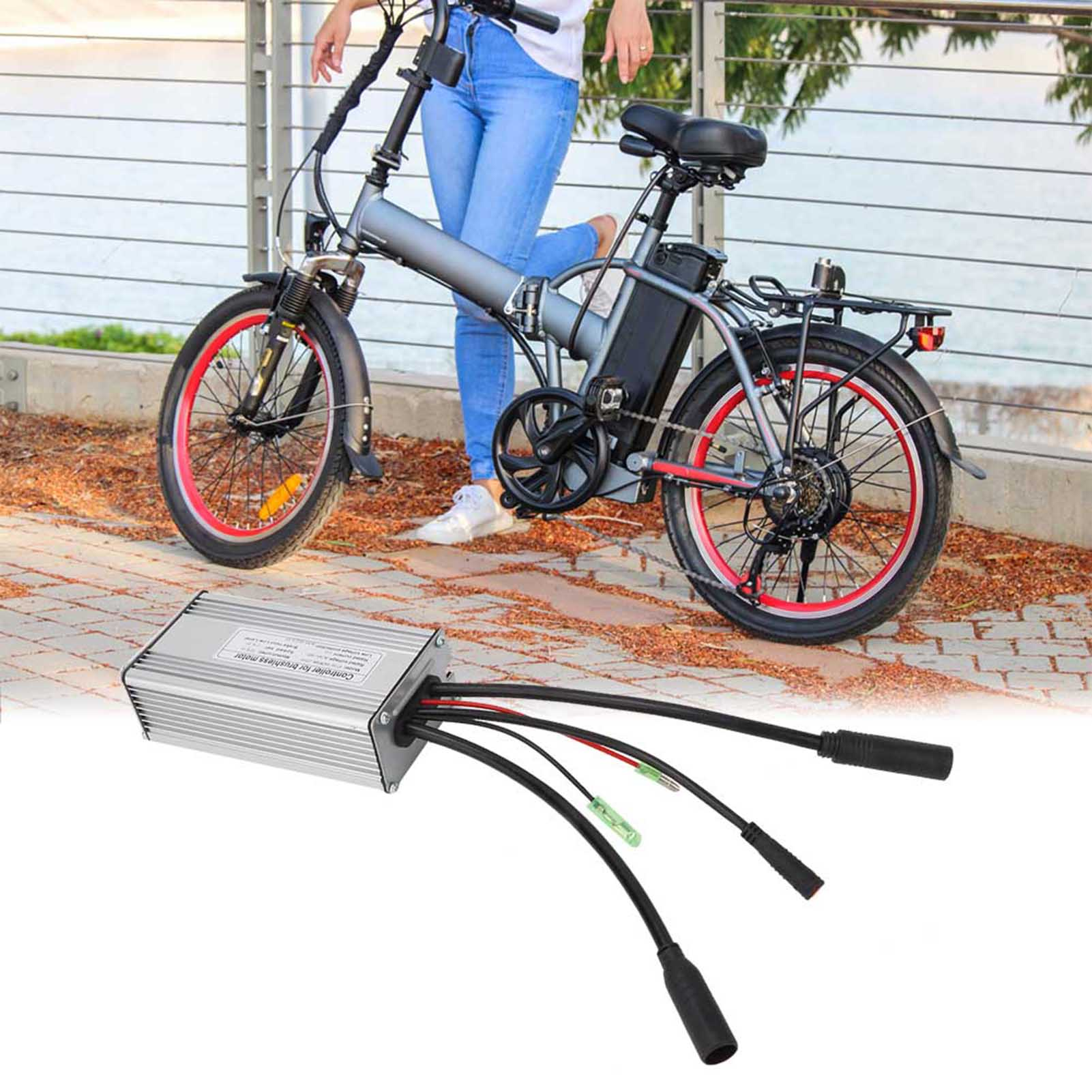 24V-36V-48V-Electric-Bicycle-Bike-Scooter-Brushless-Motor-Speed-Controller-Kit thumbnail 24