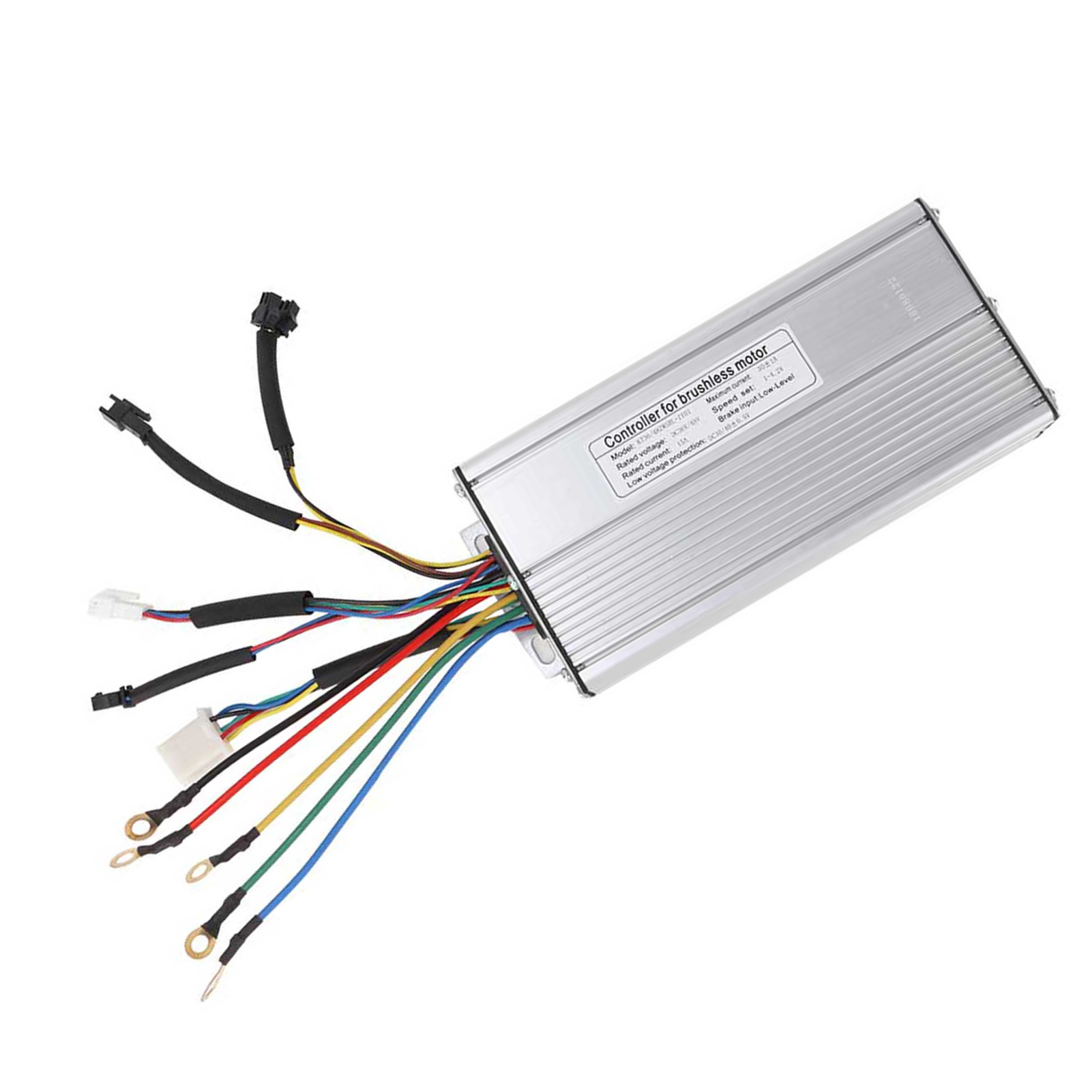 24V-36V-48V-Electric-Bicycle-Bike-Scooter-Brushless-Motor-Speed-Controller-Kit thumbnail 26