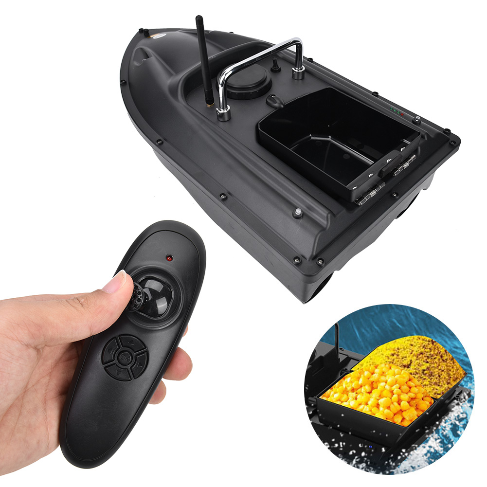 RC Speedboat pesca Bait Boat 1.5kg Lure Loading 500m Fish Finder accessories