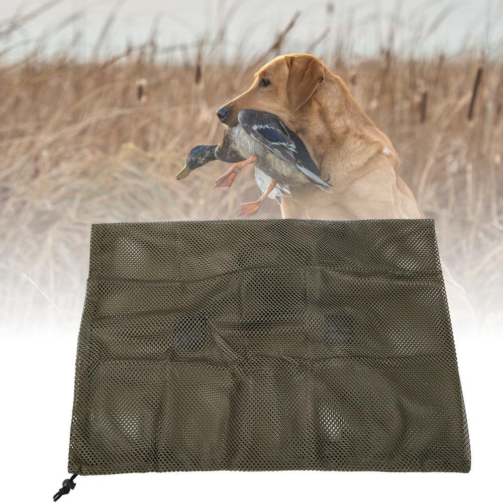 Hunting-Mesh-Decoy-Backpack-Mesh-Turkey-Goose-Duck-Decoy-Bag-Tool-Shoulder-Strap thumbnail 13