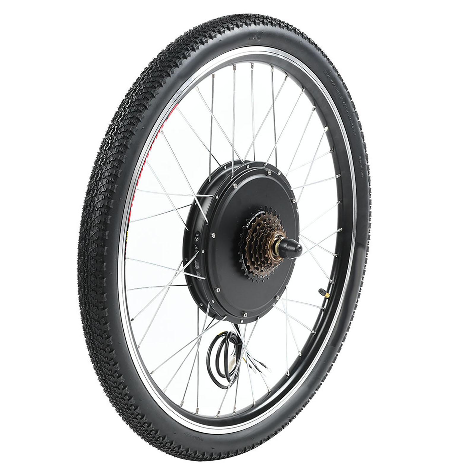 36V Electric e-Bike Conversion Kit Front Rear Motor Hub Wheel 250W 350W 500W