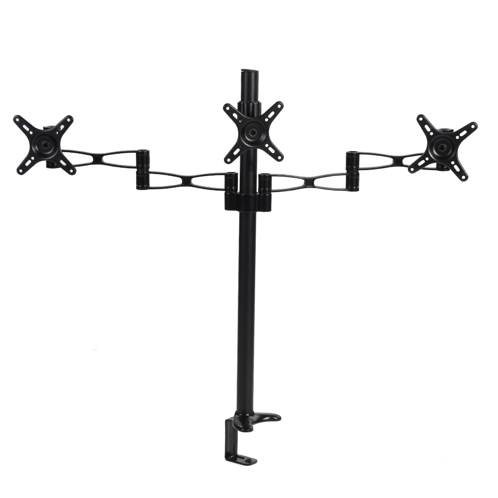 Adjustable-Computer-LCD-Screen-Monitor-Mount-Stand-Holder-Rack-360-Rotatable-US thumbnail 18