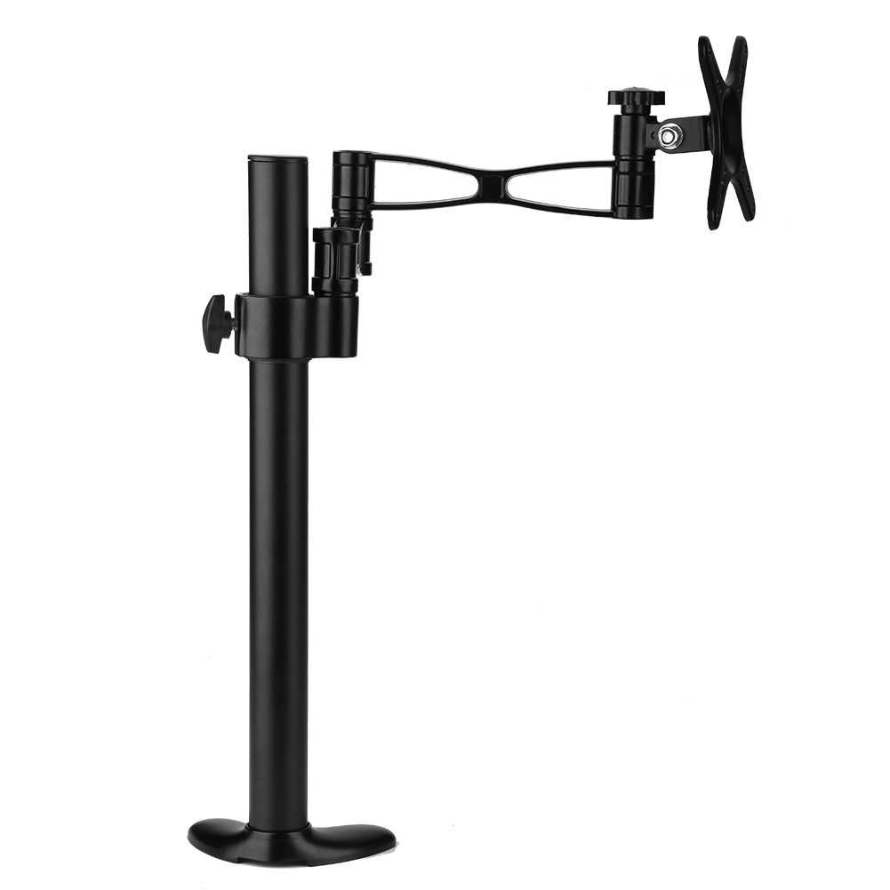 Adjustable-Computer-LCD-Screen-Monitor-Mount-Stand-Holder-Rack-360-Rotatable-US thumbnail 15