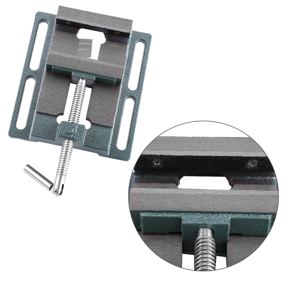 Heavy Duty 4 inch Opening Size Drill Press Vice Milling Clam