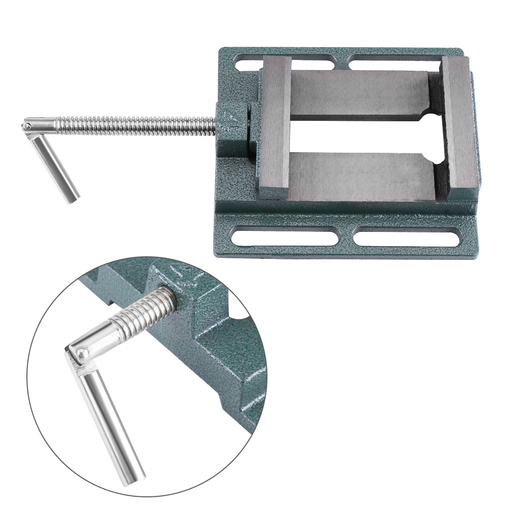4 inch Opening Size Drill Press Vice Milling Drilling Clamp