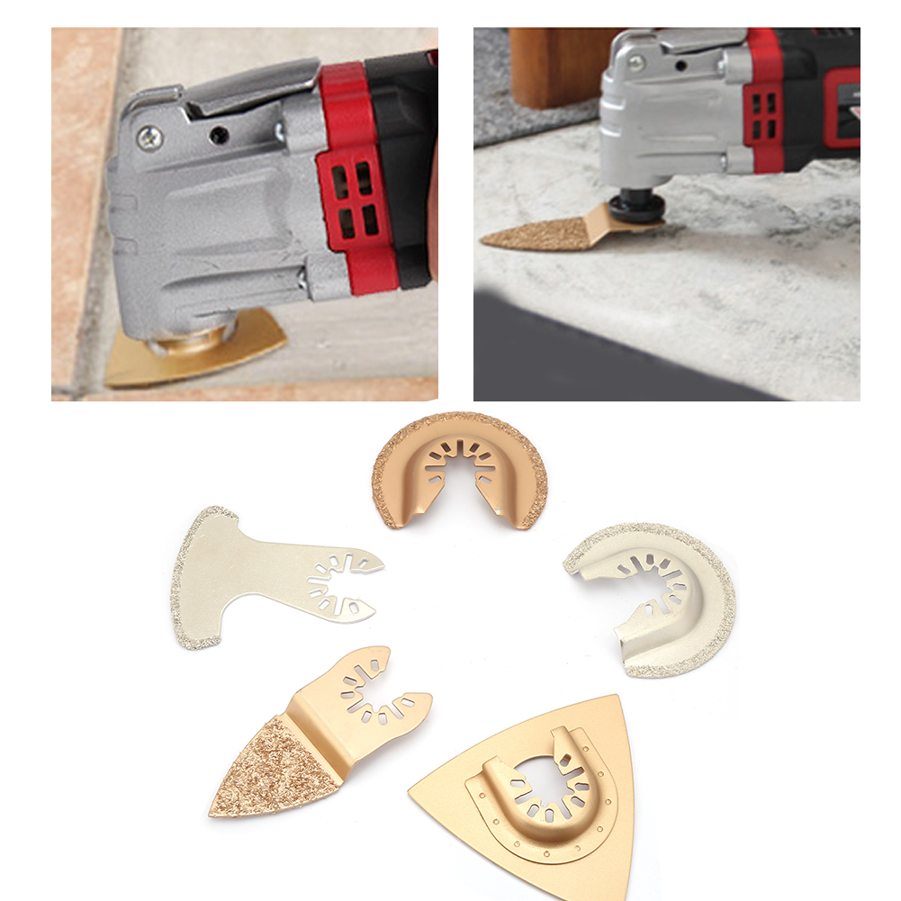 5 Pcs Oscillating Multi Tool Saw Blade Accessories Set For F