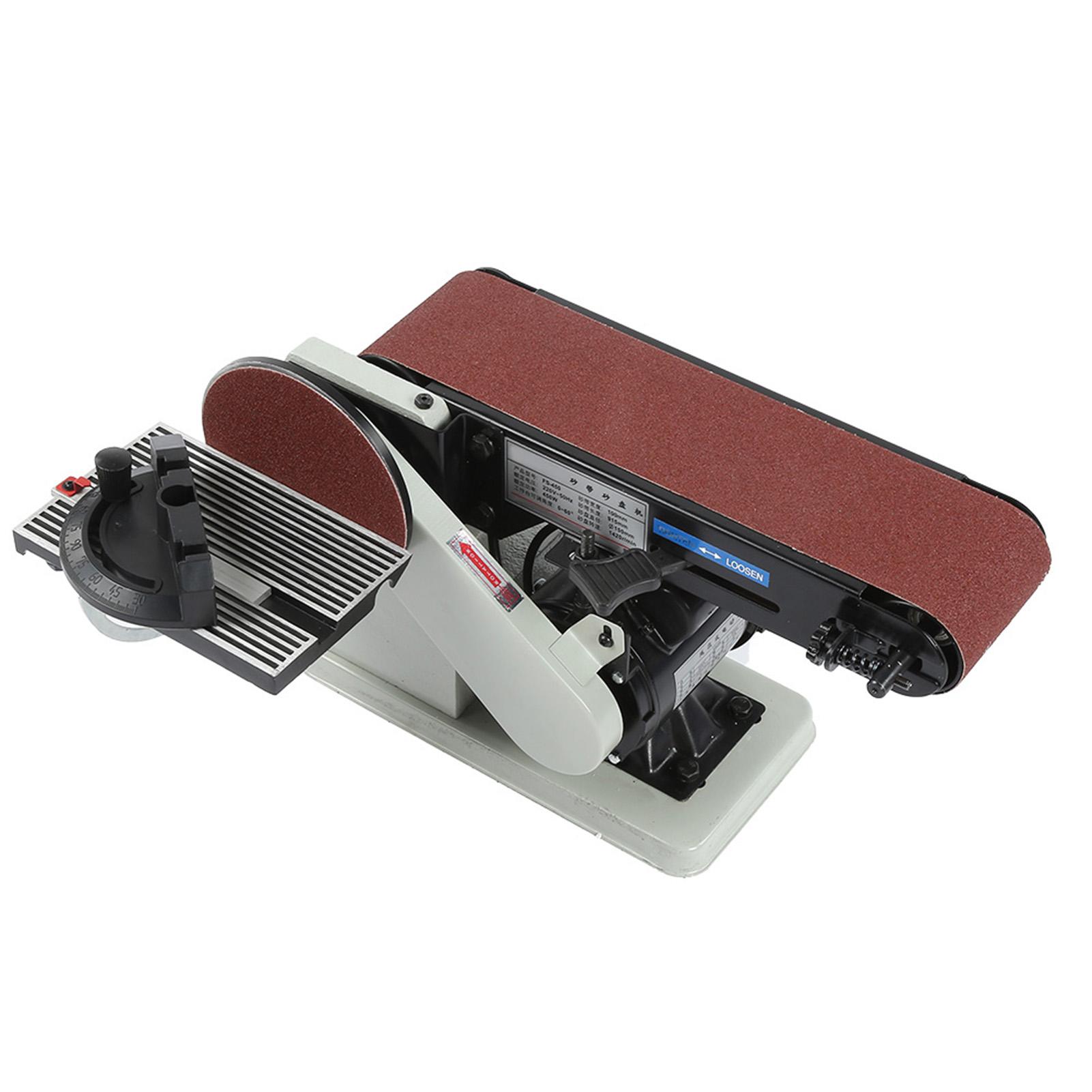 450w Belt Disc Sander Bench Grinder 6 Quot Manual Disc Grinder