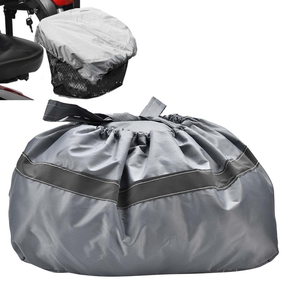 Professional-Waterproof-Mobility-Scooter-Front-Basket-Cover-Removable-Bag thumbnail 15