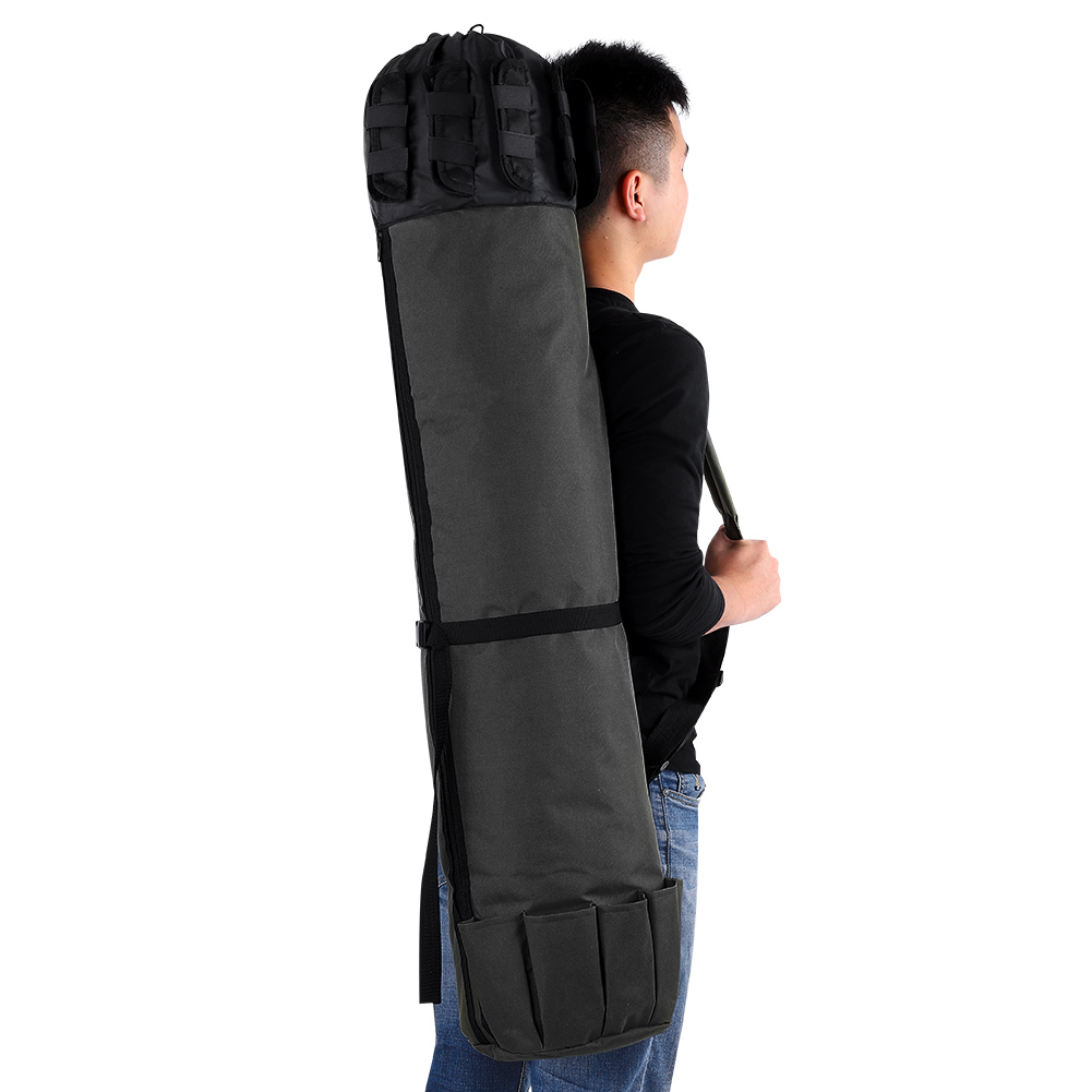 Assorted Fishing Rod Bags Zipped Tackle Box Case Pouch Holder 1M//1.5M Foldable