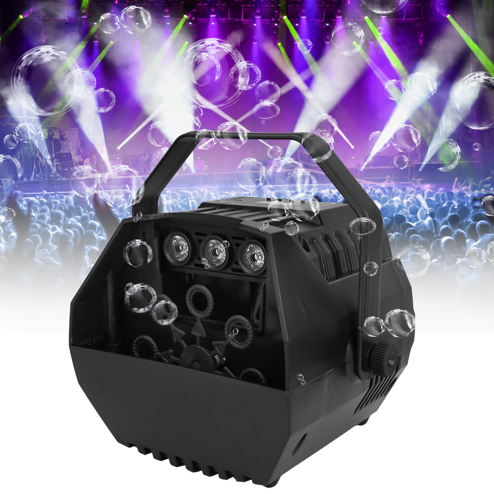Electric Bubble Blower Machine Maker DJ Disco Club Children Party Wedding Show