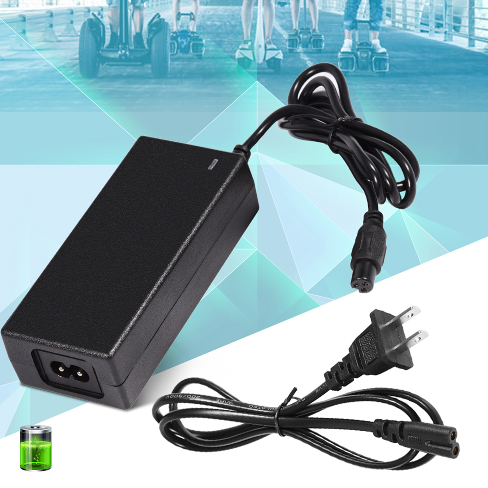 42V-2A-Universal-Battery-Charger-for-Hoverboard-Smart-Balance-Scooter-Hoverboard thumbnail 11