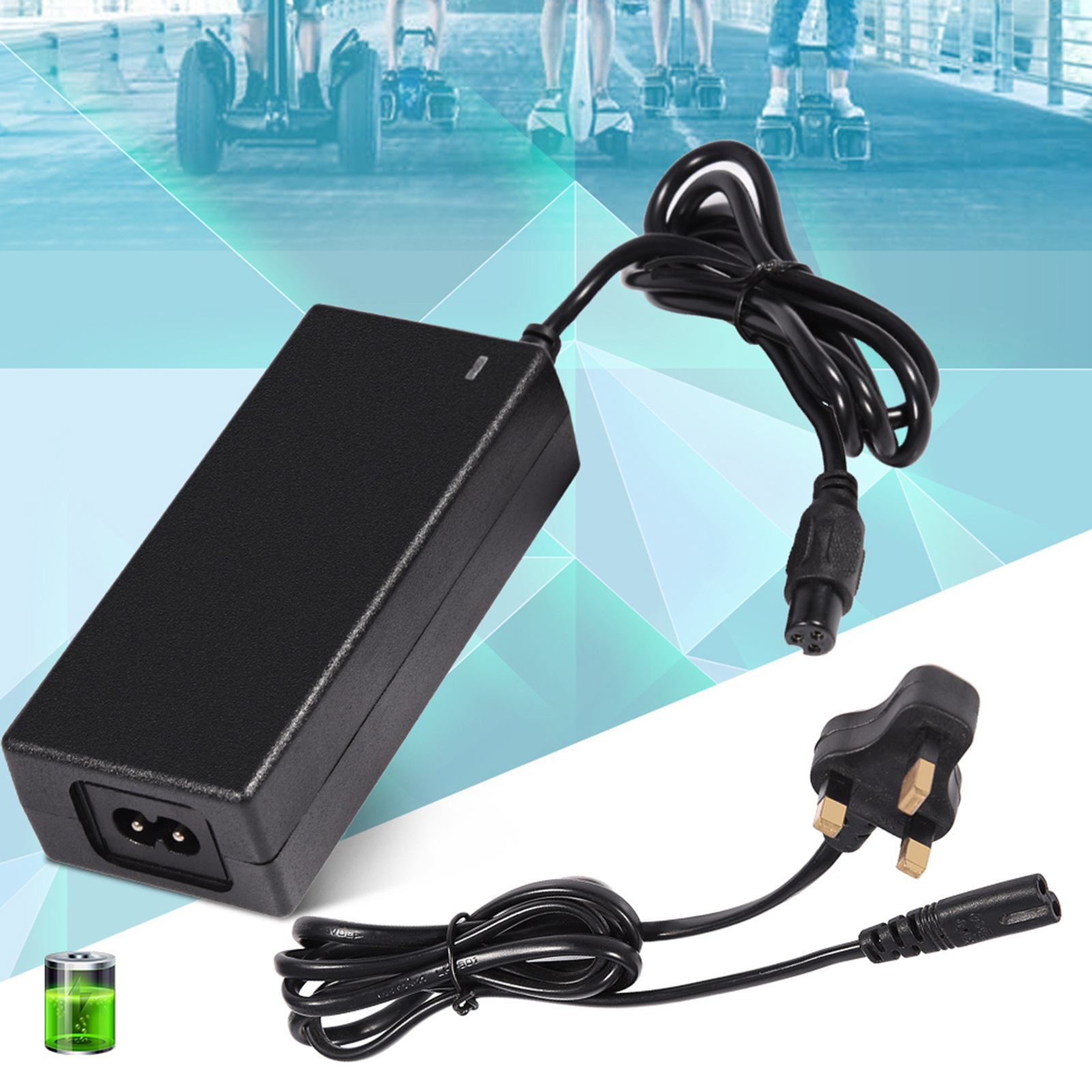 42V-2A-Universal-Battery-Charger-for-Hoverboard-Smart-Balance-Scooter-Hoverboard thumbnail 14