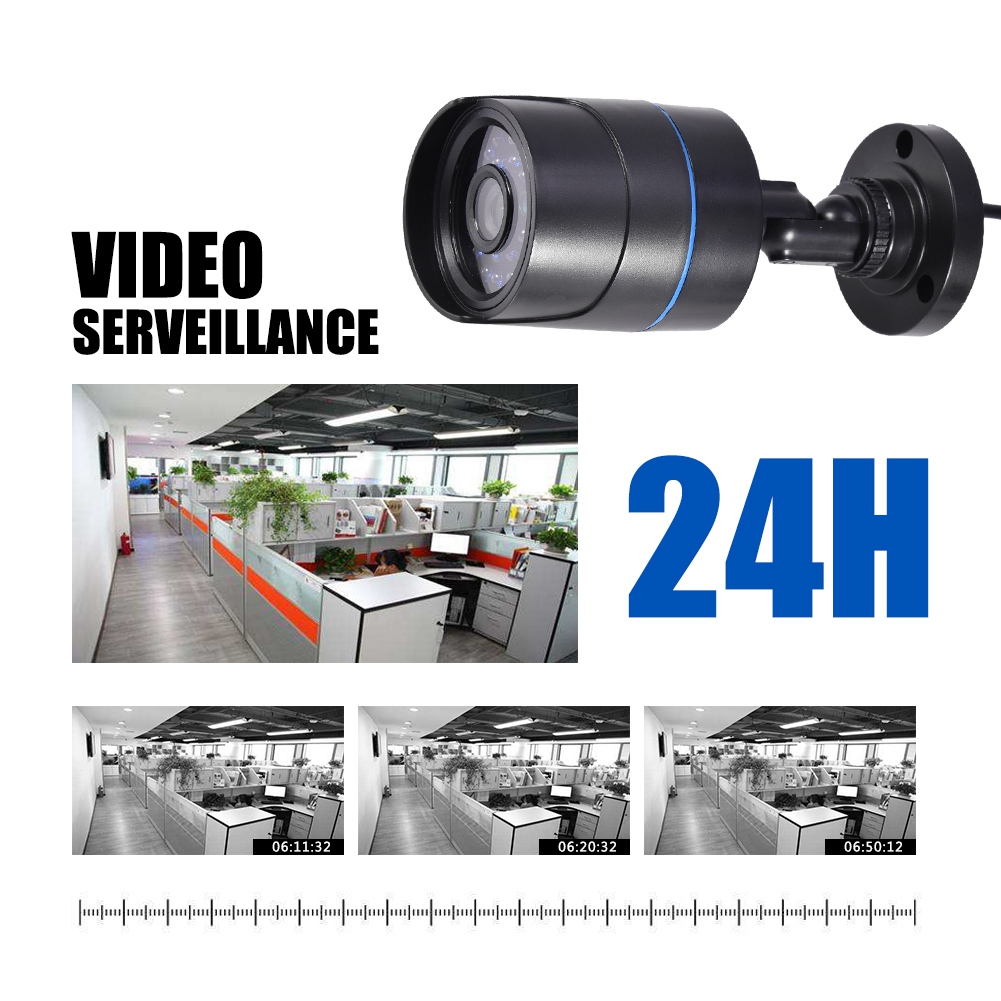 720P-4CH-CCTV-Security-Camera-System-HD-DVR-AHD-Surveillance-Outdoor-Waterproof miniature 17