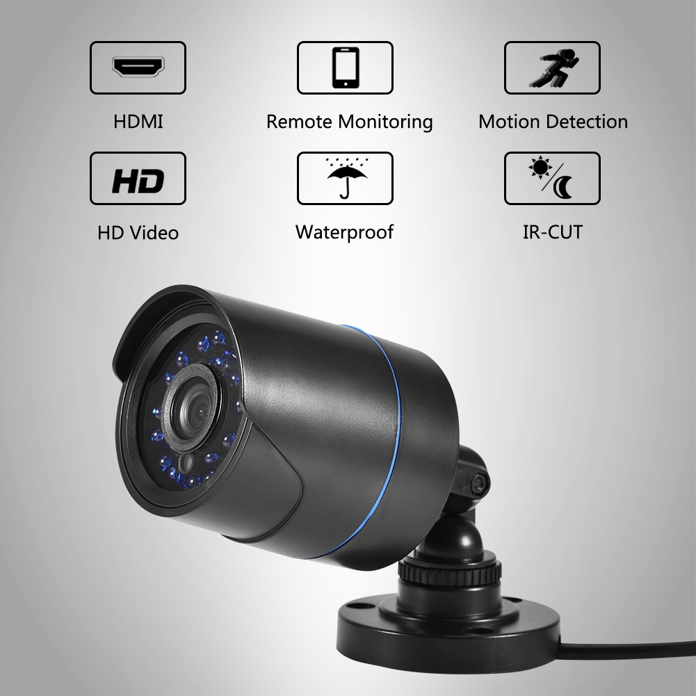 720P-4CH-CCTV-Security-Camera-System-HD-DVR-AHD-Surveillance-Outdoor-Waterproof miniature 18