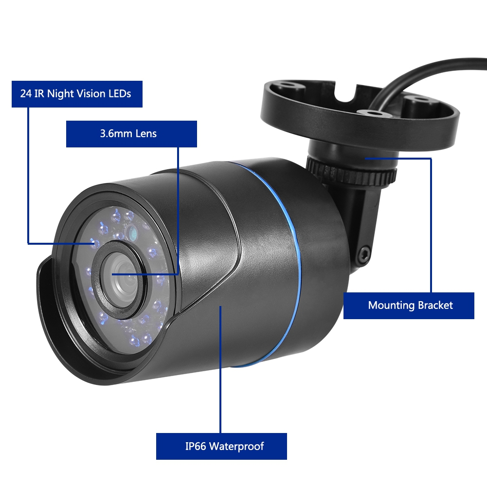 720P-4CH-CCTV-Security-Camera-System-HD-DVR-AHD-Surveillance-Outdoor-Waterproof miniature 21