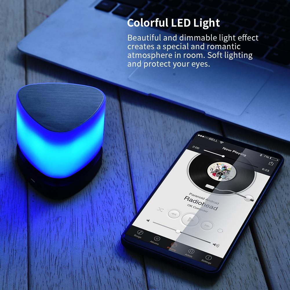 Mini-Wireless-Bluetooth-Audi-LED-Radio-Portatile-senza-fili-Music-Speaker