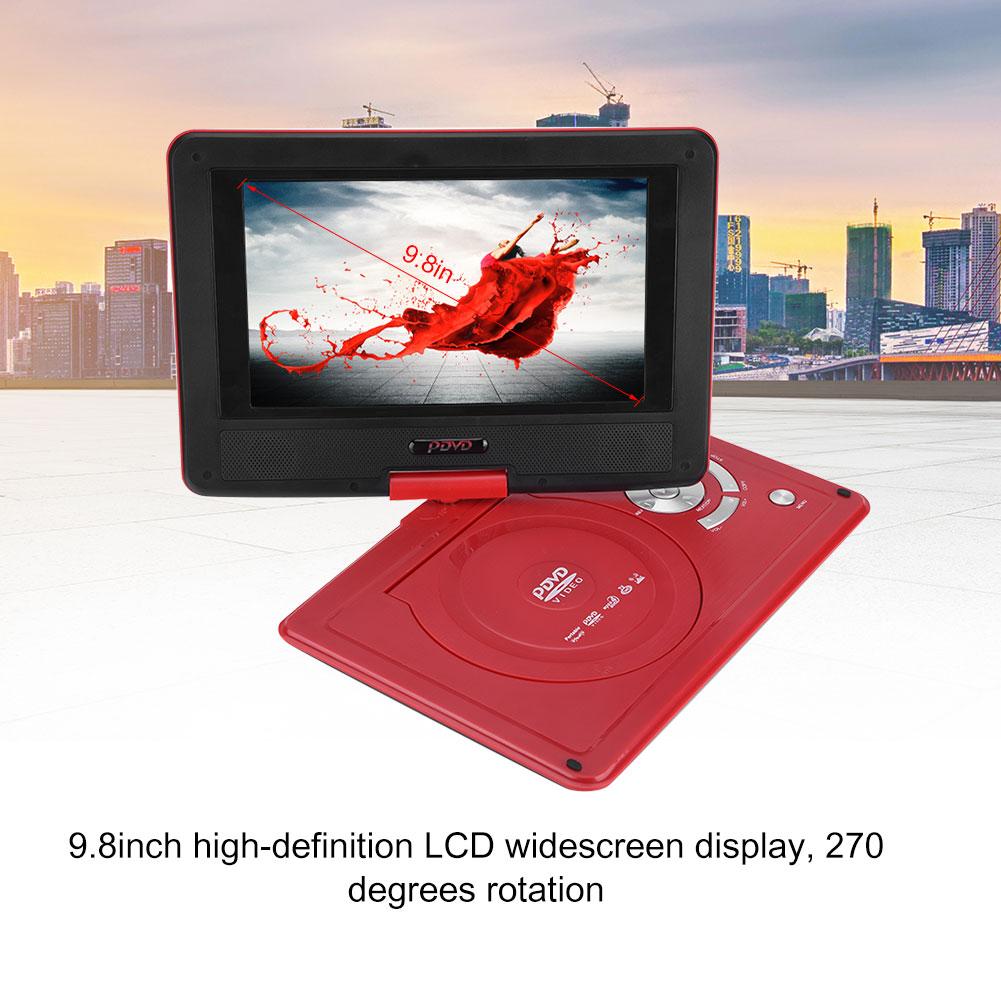 9-8-034-HD-TV-Portable-Game-DVD-Player-270-LCD-Swivel-Screen-FM-AVI-Car-Adapter