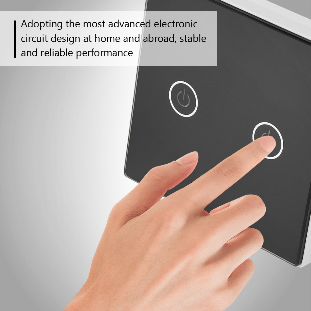 Wireless Touch Screen Wall Switch Remote Control Crystal Electronic Design Circuits