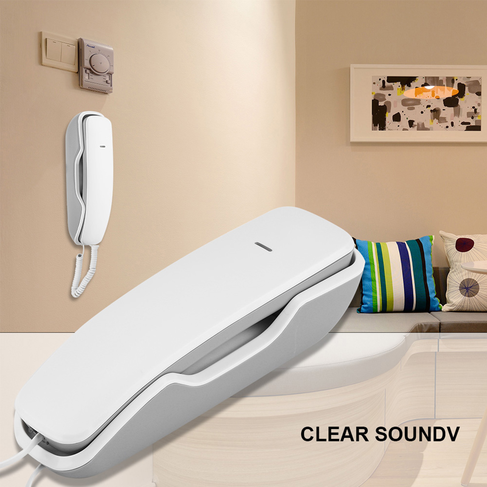 Wall-Mounted-Telephone-Landline-Corded-Phone-Home-Office-Desk-Noise-Cancelling