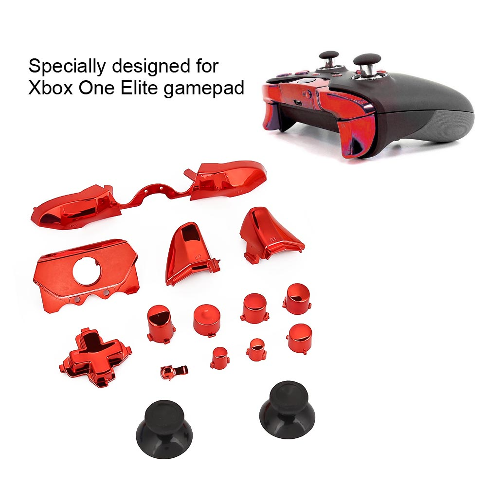Details about Replacement Custom Trigger/Bumper Button Kit with Screwdriver  for Xbox One Elite