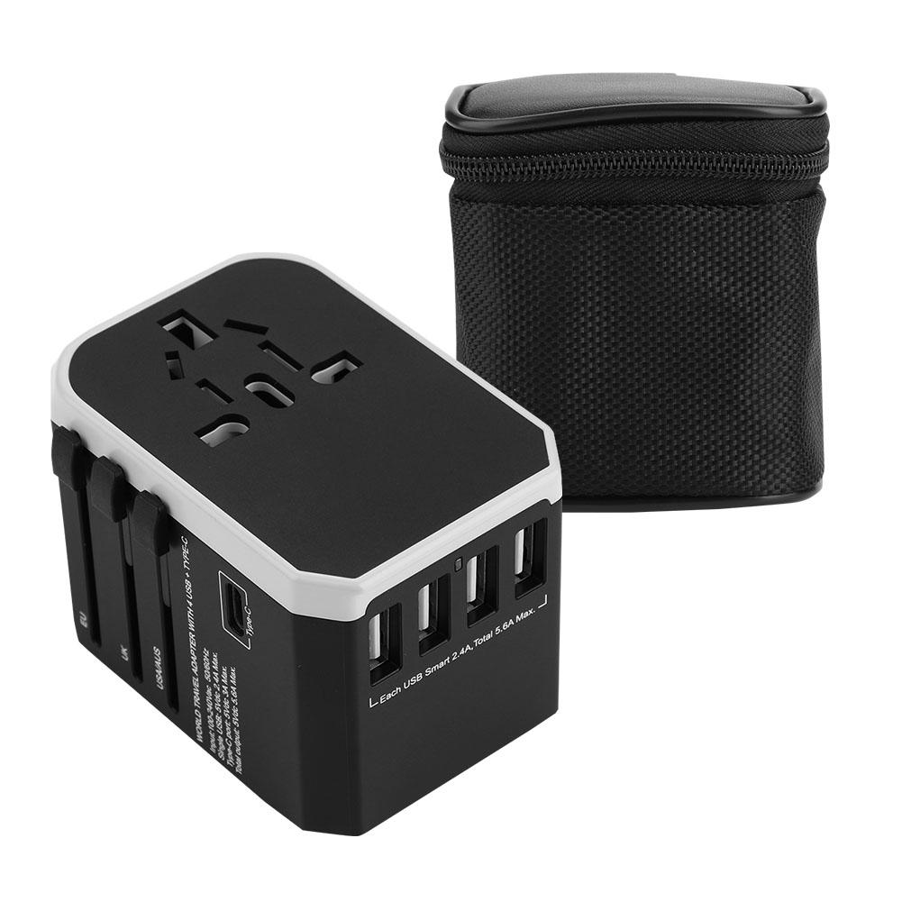 2000W-Power-Plug-World-Travel-Charger-Adapter-Converter-4-USB-Type-C-AU-US-UK-EU