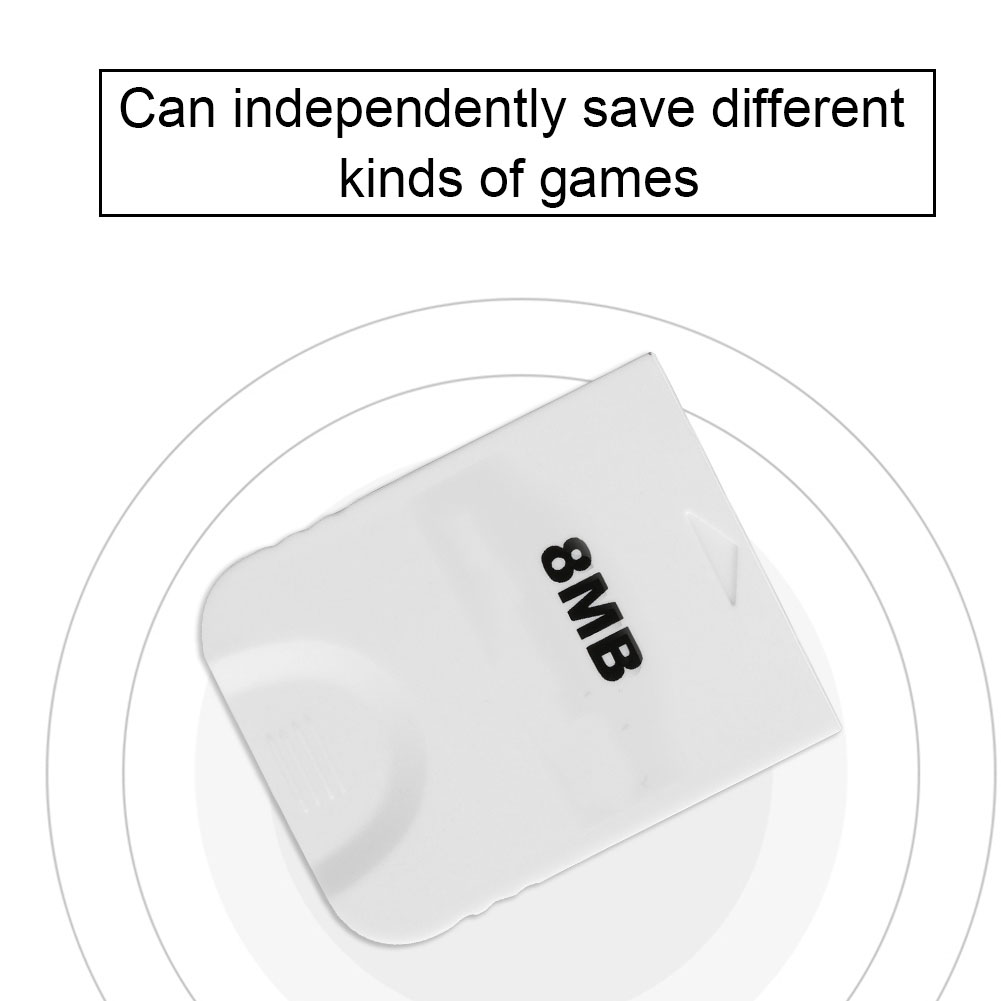8M-32M-128M-256M-512M-1024M-Memory-Card-for-PSS2-Wii-NGC-Gamecube-Game-Console miniature 38