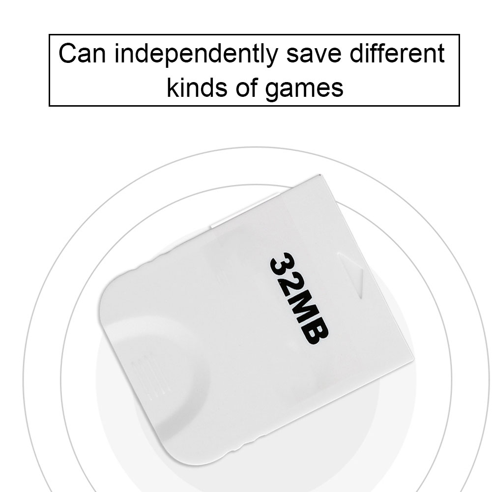 8M-32M-128M-256M-512M-1024M-Memory-Card-for-PSS2-Wii-NGC-Gamecube-Game-Console miniature 32