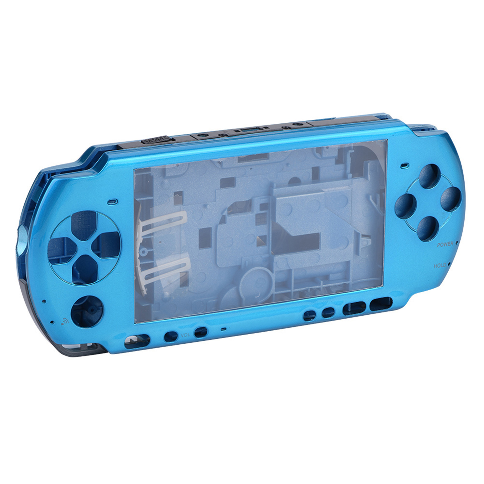 Full-Housing-Shell-Case-Cover-Faceplate-Set-Repair-Part-for-PSP-3000-Slim-Series thumbnail 24