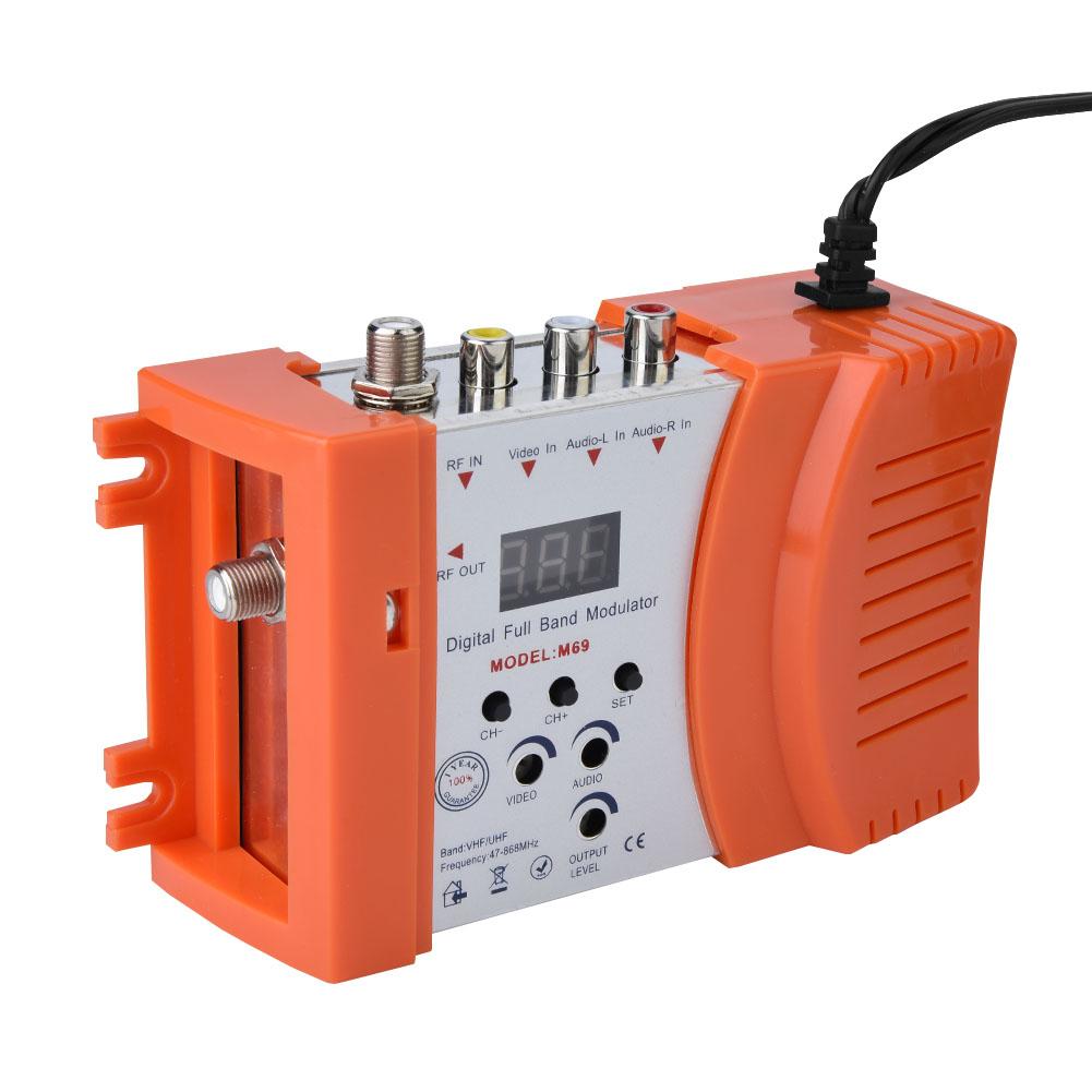 Mini-Digital-RF-Modulator-AV-RF-AV-TV-Converter-VHF-UHF-for-Audio-Video-Signal thumbnail 13