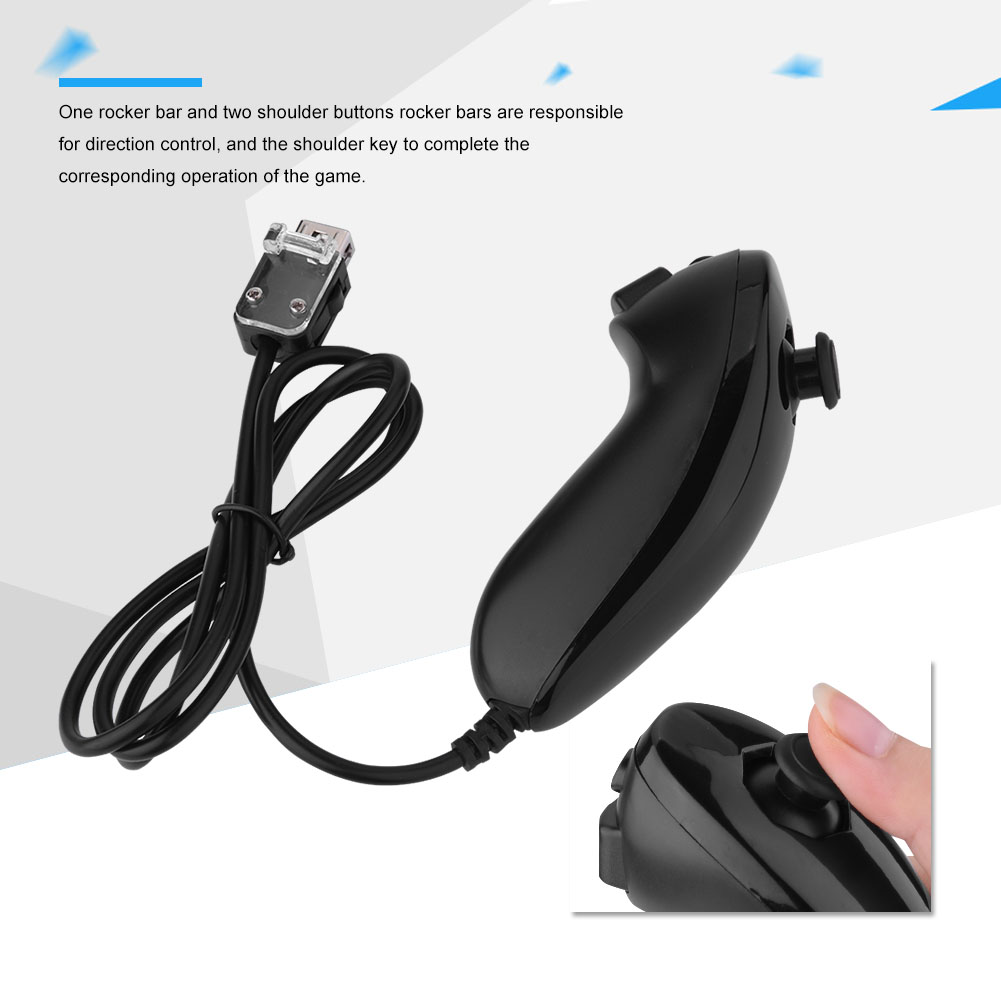 For-Nintendo-WII-WII-U-Built-in-Motion-Plus-Remote-Nunchuck-Controller-Case miniature 59