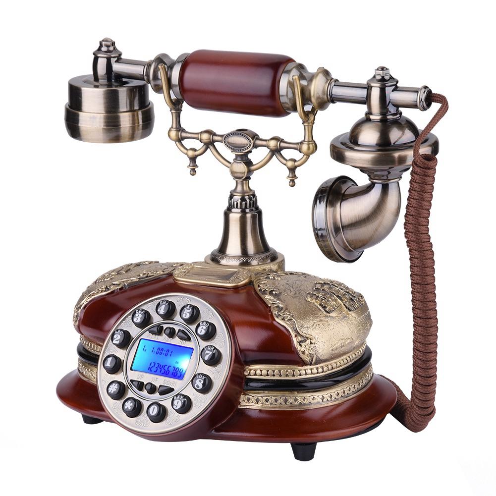 retro vintage telefon platte w hlscheibe antik telefon festnetz f r office hotel ebay. Black Bedroom Furniture Sets. Home Design Ideas