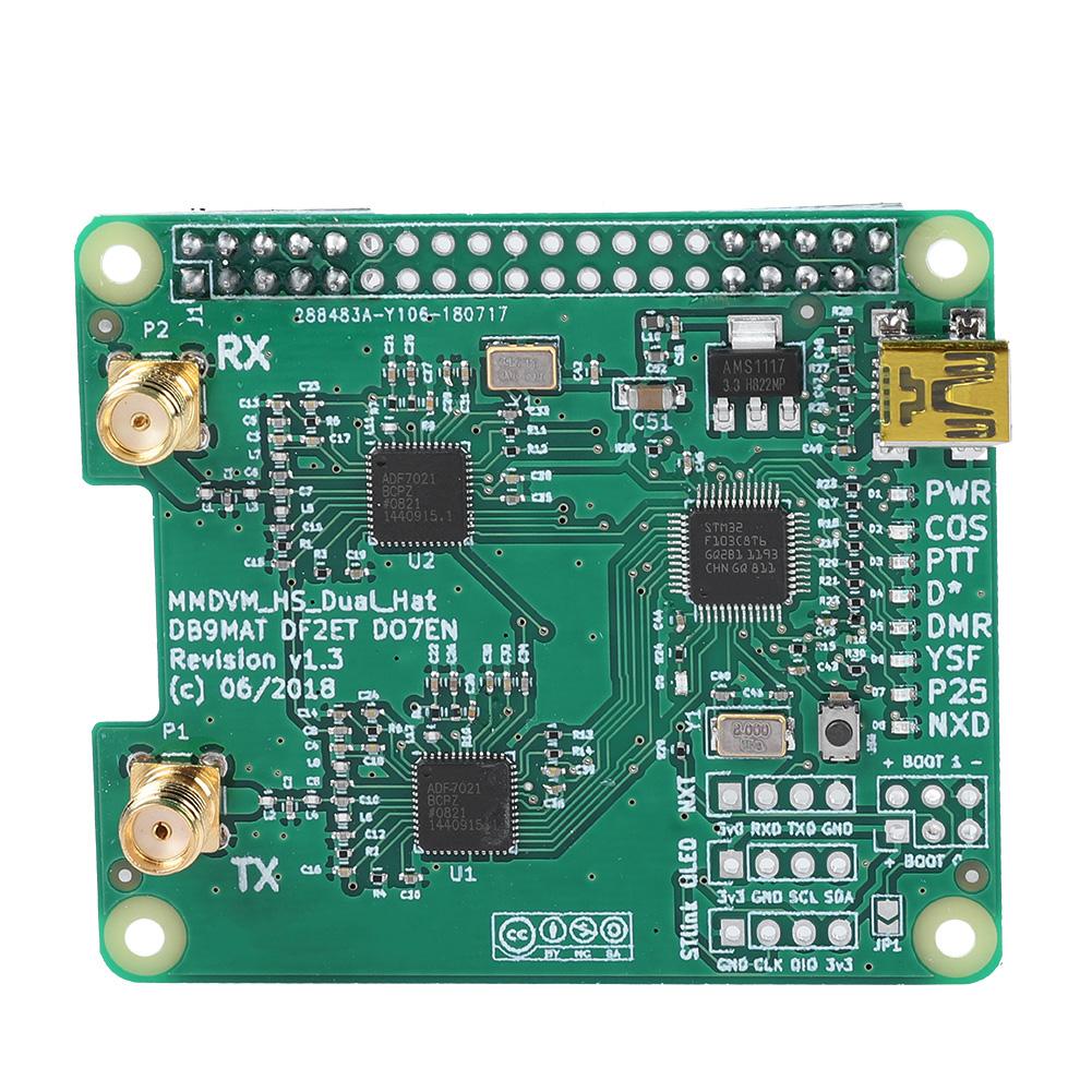 MMDVM-Hotspot-Module-Antenna-OLED-Case-DIY-Kit-P25-DMR-D-Star-for-Raspberry-Pi thumbnail 21