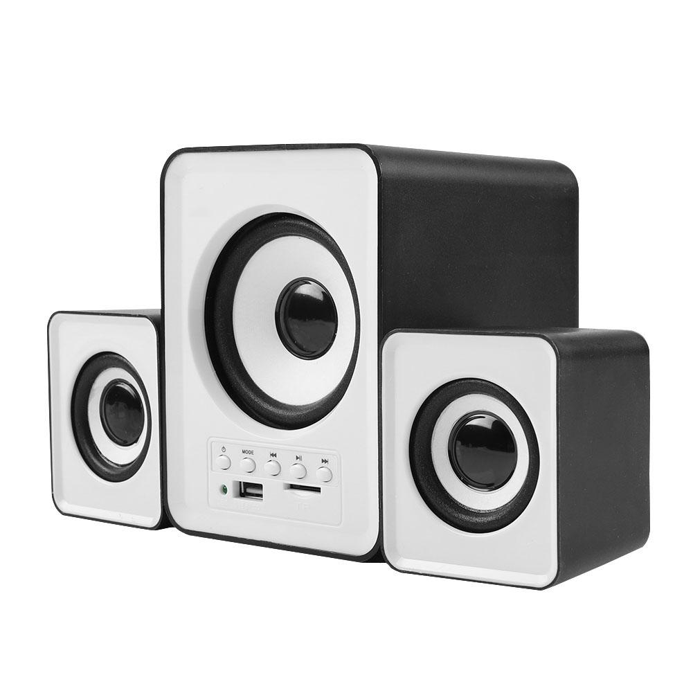 Mini-Computer-Speaker-2-1-USB-Bluetooth-Desktop-PC-Laptop-Subwoofer-Audio-System miniature 70